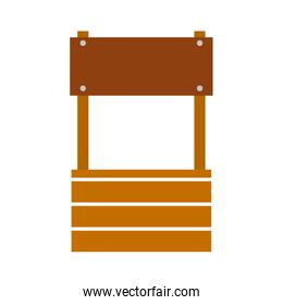 farm fount isolated icon