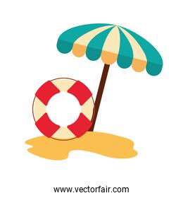 float lifeguard isolated icon