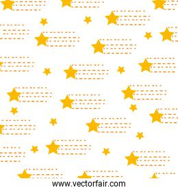 universe star isolated pattern