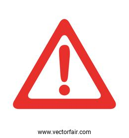 alert signal isolated icon