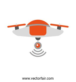 drone flying technology icon