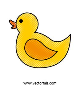 rubber duck toy icon