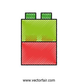 toy blocks structure icon