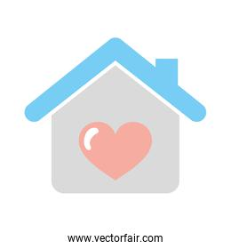 house with heart icon