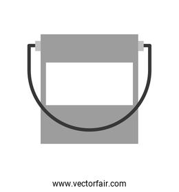 paint pot isolated icon