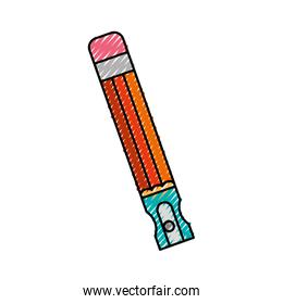 pencil school supply with sharpenner