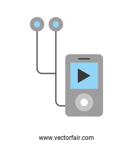 music media player isolated icon