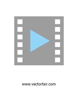 tape media player isolated icon
