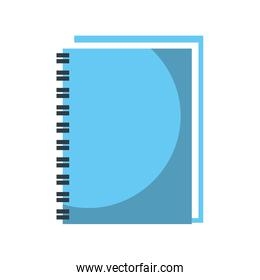 spiral notebook cover leaves equipment