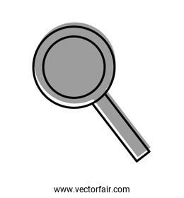 magnifying glass with handle equipment