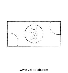 banknote money cash currency payment icon