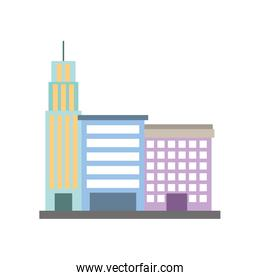 city building business property architecture modern