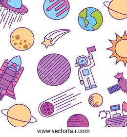 universe planet earth space