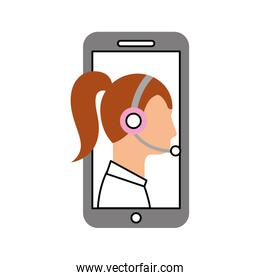 contact support customer service smartphone online specialist