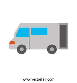 truck icon delivery van service transport business