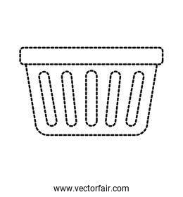 laundry basket plastic object equipment