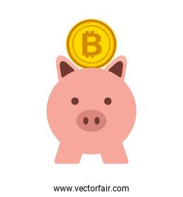 business piggy and bitcoin safety money