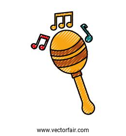 maraca note music instrument musical festival celebration