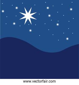 star night sky festive pattern great for winter or christmas theme