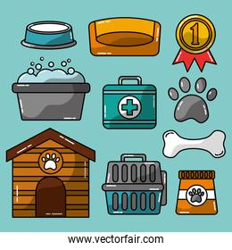 pet accessories grooming and veterinary care