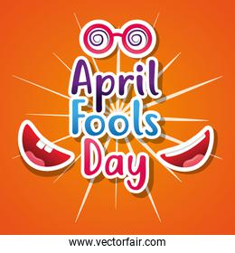 april fools day smiling moth great party gift card