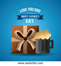 happy fathers day card image