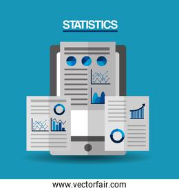 mobile financial report strategy document statistics