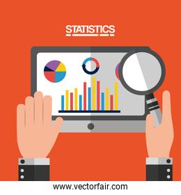 statistics data business image