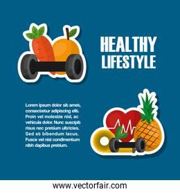 healthy lifestyle sport food