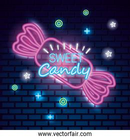 sweet candy neon