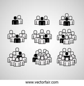 people group icons