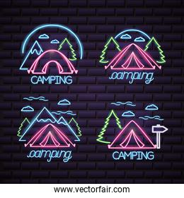 camping summer relate