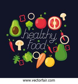 healthy food fresh