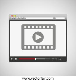 video player template design