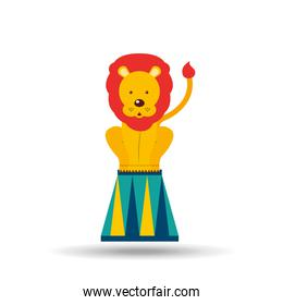 circus animal isolated icon design