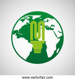 ecology eco nature protection bulb