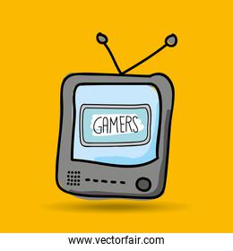 gamers play icon