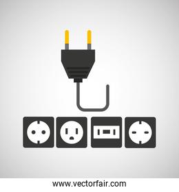 electricity power icon