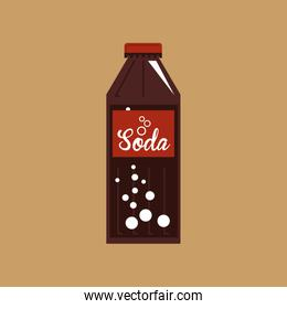 hand with soda icon