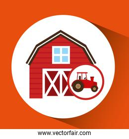 farm and truck icon