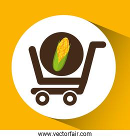 cart buy cob icon design