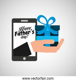 greeting fathers day technology gift