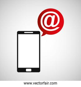 cellphone mail web multimedia icon