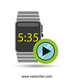 smart watch technology with video player