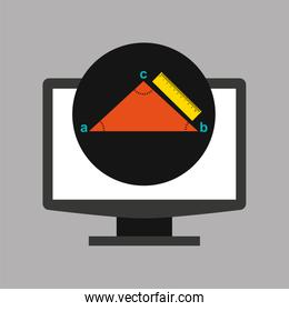 online education technology geometry triangle