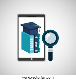 education online smartphone app search library