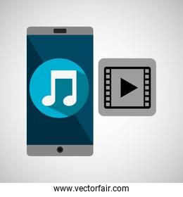 Smartphone music online video