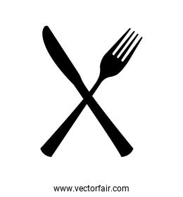 table cutlery  isolated icon design