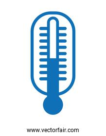 thermometer  isolated icon design