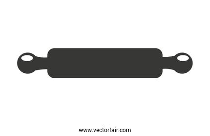 rolling pin isolated icon design